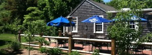 enjoy casual dining on our outdoor patio the sun tavern in duxbury