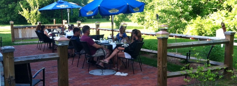 Enjoy Casual Dining on Our Outdoor Patio